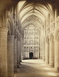 Gloucester Cathedral, The Nave, Looking West